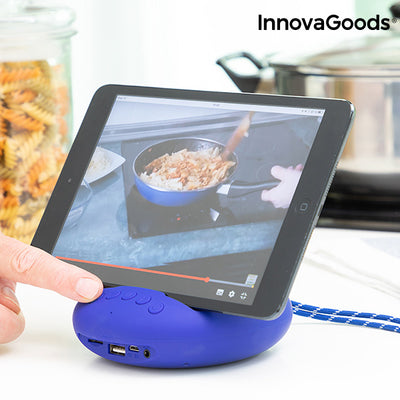 Wireless Speaker with Holder for Devices Sonodock InnovaGoods.
