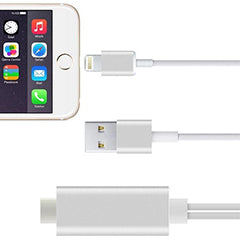 Cabo LIGHTNING 8 Pinos Apple (iPad/iPhone) -> HDMI