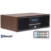 Leitor Retro Radio FM DAB+ CD/USB/AUX/BLUETOOTH (Madeira) - DENVER