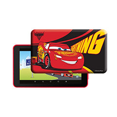 Tablet 7´ Themed Cars 16GB (Inclui Capa) - eSTAR