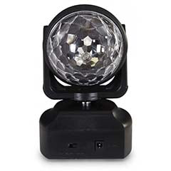 Moving Head LED RGBWAP 6x 1W - FONESTAR