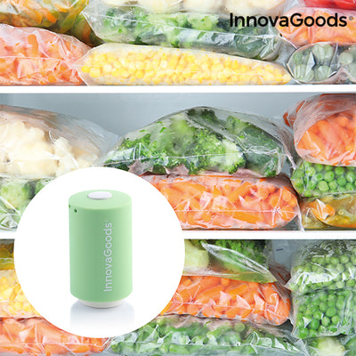 Rechargeable vacuum sealer Ever·Fresh InnovaGoods.