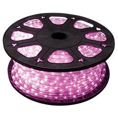 Mangueira Luminosa LED Rosa (45 mts) - HQ POWER