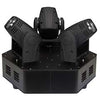 Moving Head Triplo 3x LED 10W Branco DMX - HQ POWER