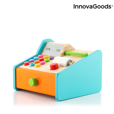 Wooden Cash Register with Accessories Kashy InnovaGoods.