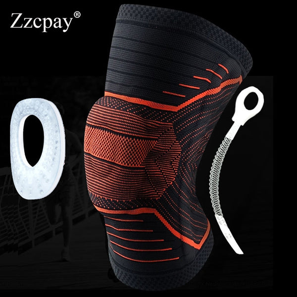 1 PCS Sports knee pad Support Running Jogging Sports Brace Volleyball Basketball Safety Guard Strap Knee Pads  Football Kneepads