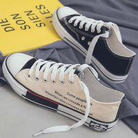 Vulcan Shoes Boys Sport Shoes High Top Canvas Sneakers Men Designer Unisex Sneakers Flat Casual School Shoes Man 2020 Fashion