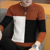2020 Winter New Arrival Warm Sweaters O-Neck Wool Sweater Men Brand Clothing Knitted Cashmere Pullover Men m-3xl