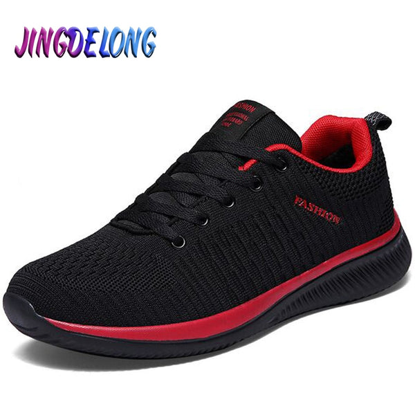 Summer Men's Casual Shoes Mesh Breathable Men's Sneakers Lightweight Comfortable Soft Men's Running Shoes Moccasins Hot sale