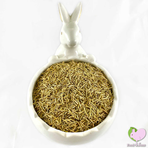 Rosemary Leaves, dried and organic, cut and sifted for rabbits, guinea pigs, chinchillas, hamsters, degus and gerbils