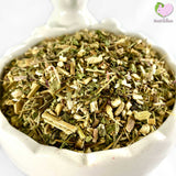Green organic echinacea cut and sifted Dandelion root, cut Chamomile flowers whole, pedals and buds, yellow for rabbits, guinea pigs, chinchillas, hamsters, degus and gerbils