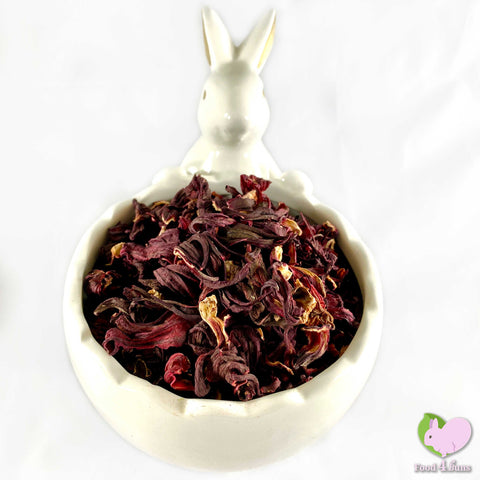 Whole dried organic hibiscus flowers