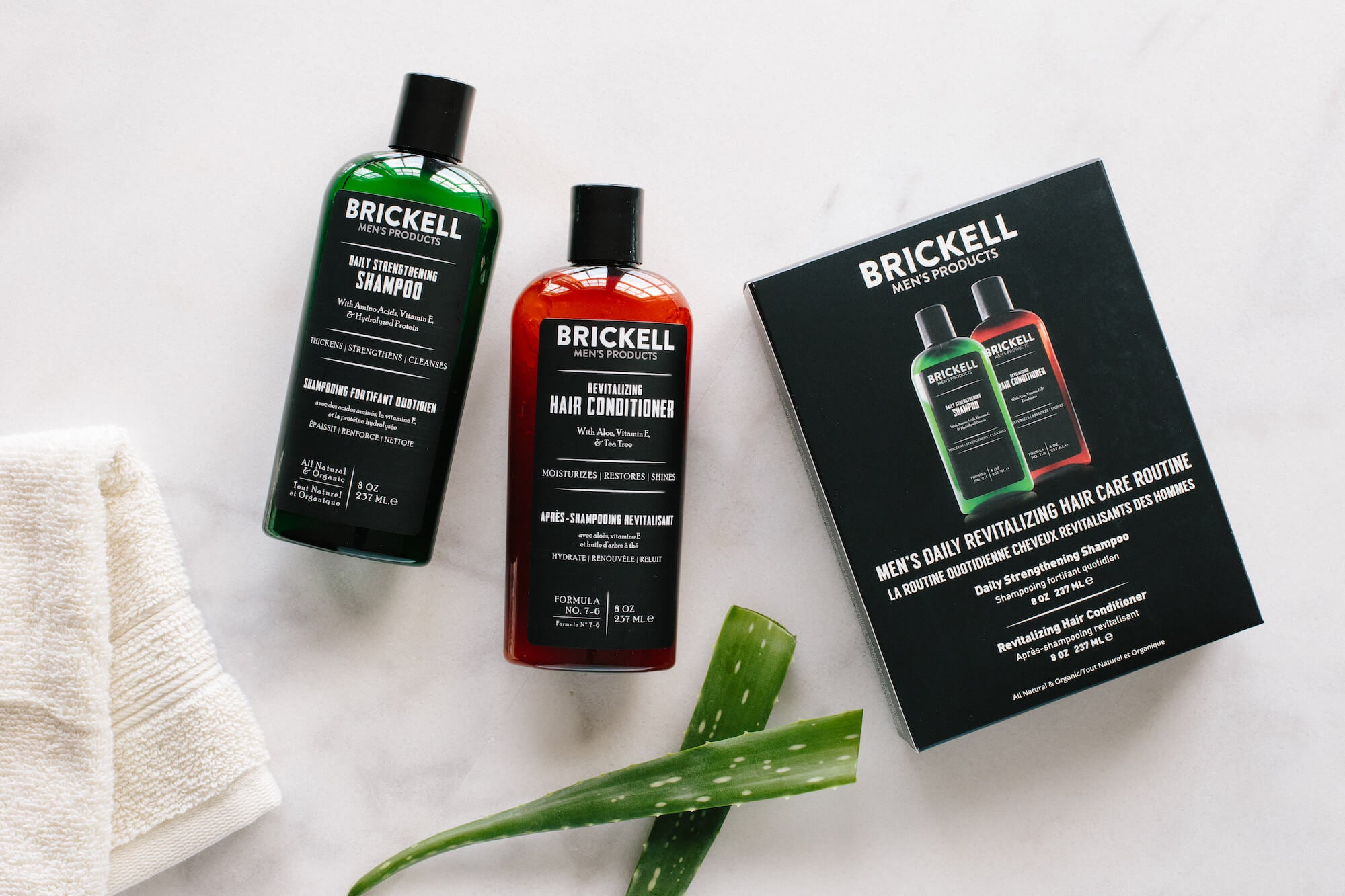 Daily Revitalizing Hair Routine