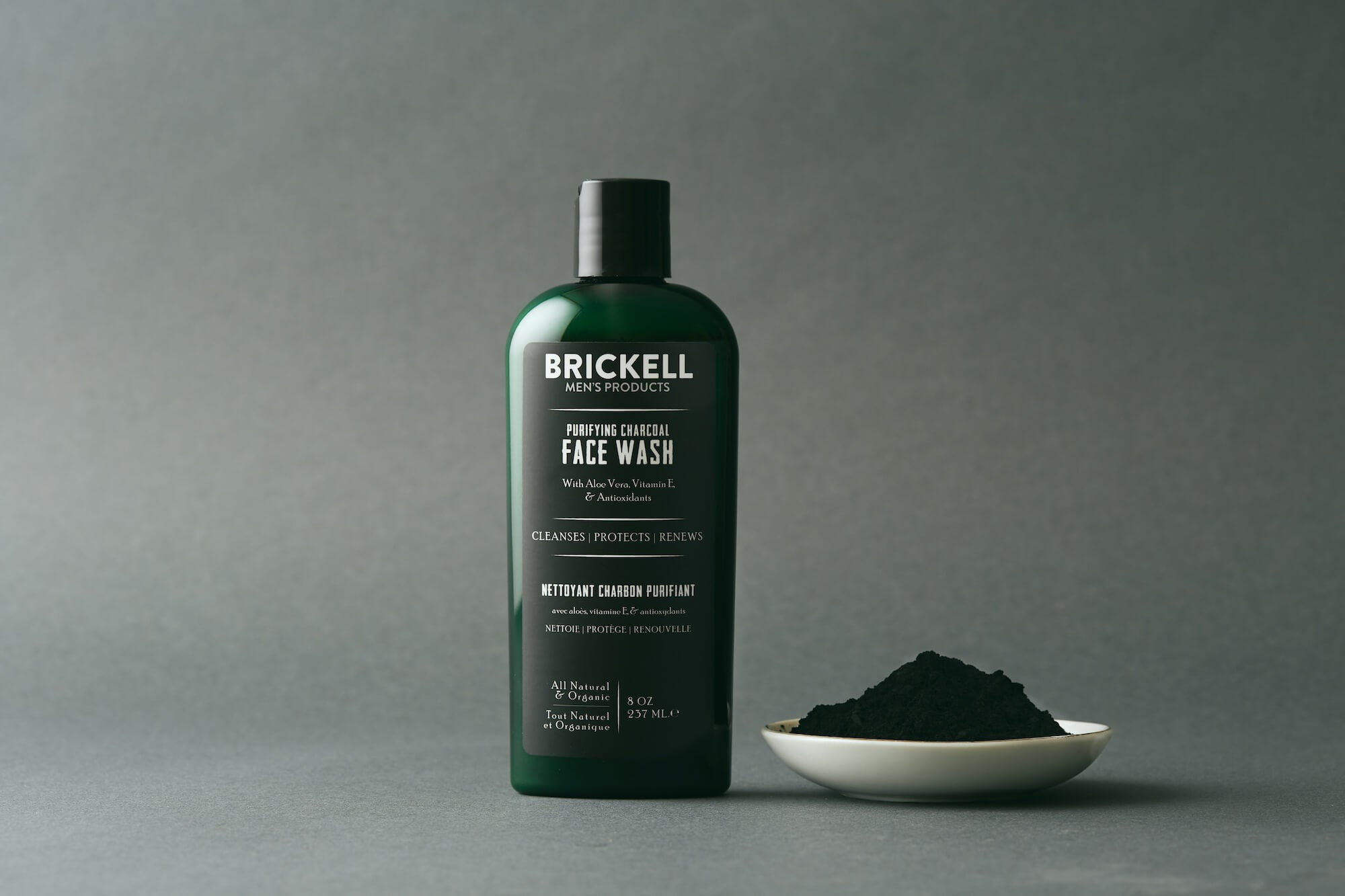 charcoal face wash for men