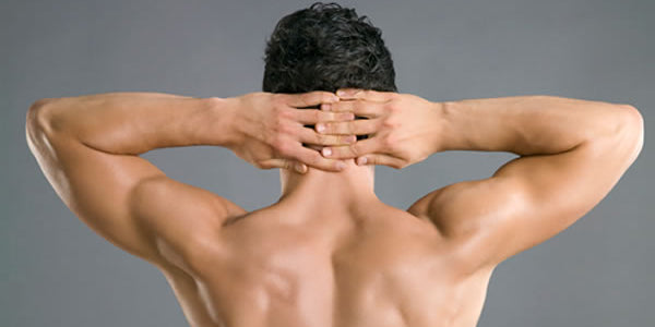 Back acne for men