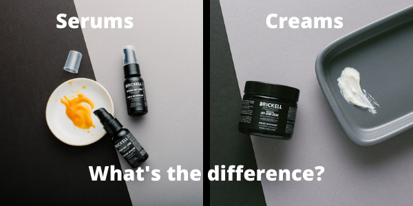 Serums vs Creams: What's the Difference?