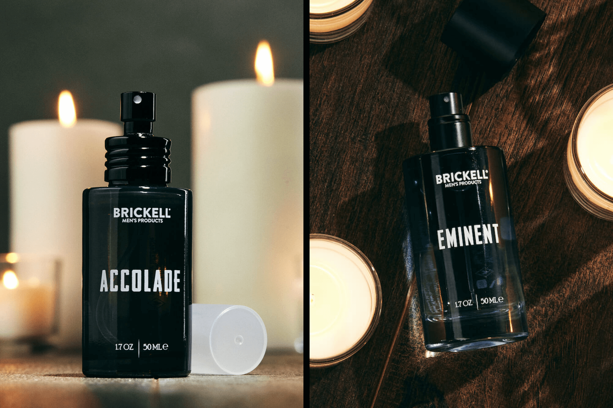 Accolade and Eminent colognes