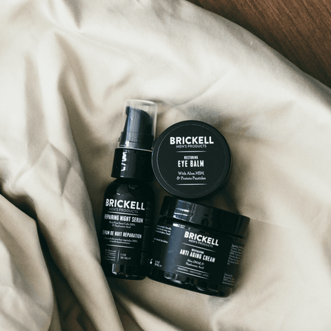 anti aging skincare routine for men