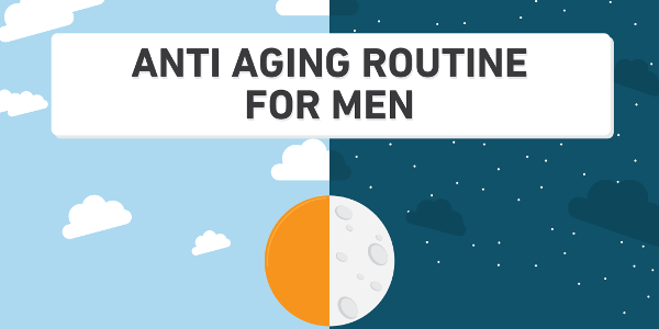 anti aging routine for men