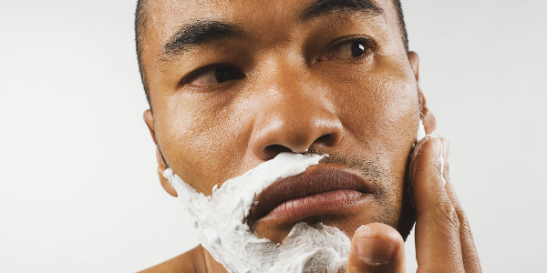 Black men shaving tips