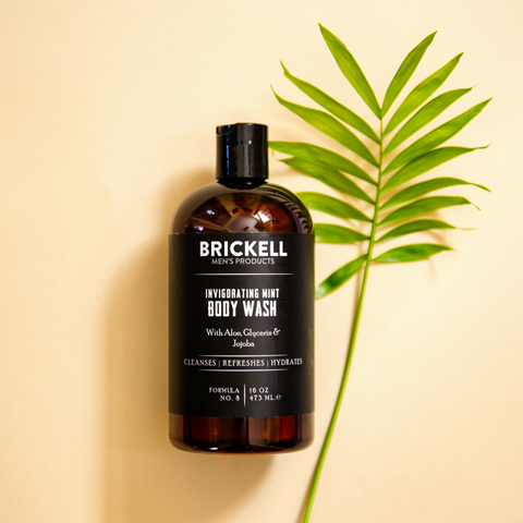natural body wash for men