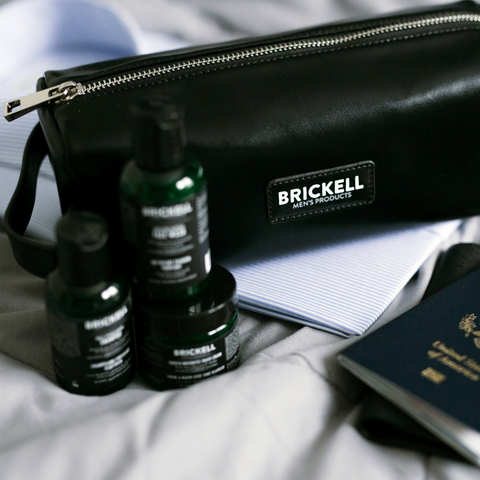 best travel skincare products for men