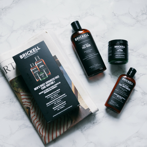 advanced face care routine for men