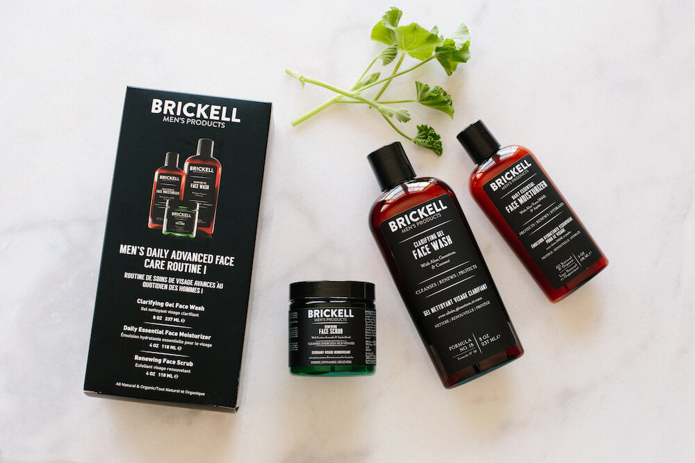 face care routine for men