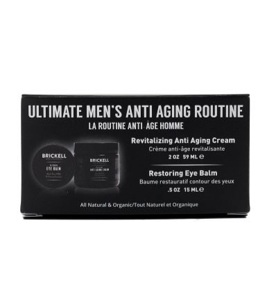 The best men's anti aging products