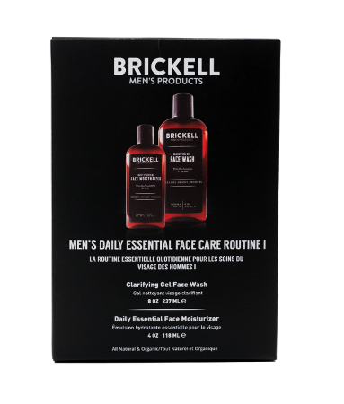 Mens skin care routine for face