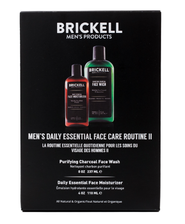 Mens daily skin care routine