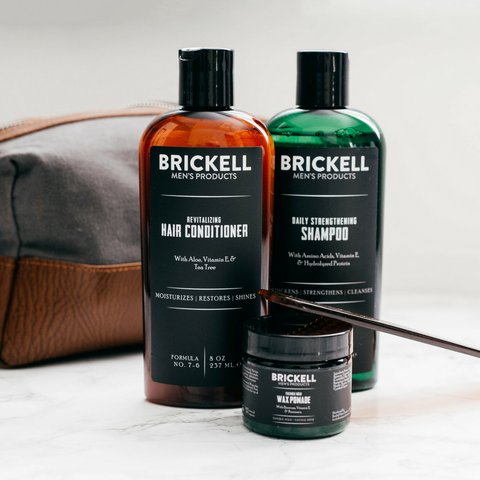 haircare routine for men