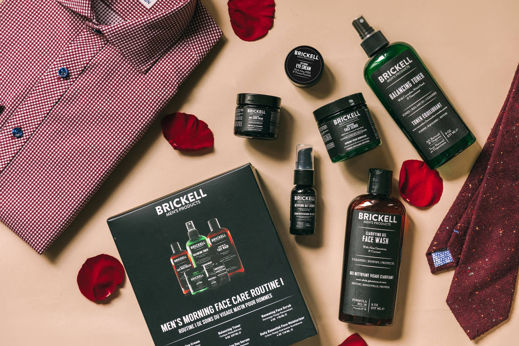 Valentine's Day face care routine for men