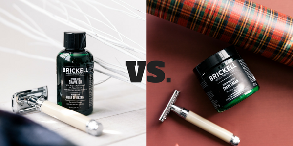 Shave Oil vs. Shave Cream - What's the Difference?