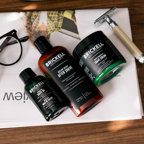 best natural shave products for men