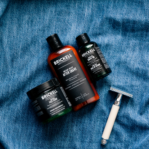 Natural & Organic Shave Products for Men