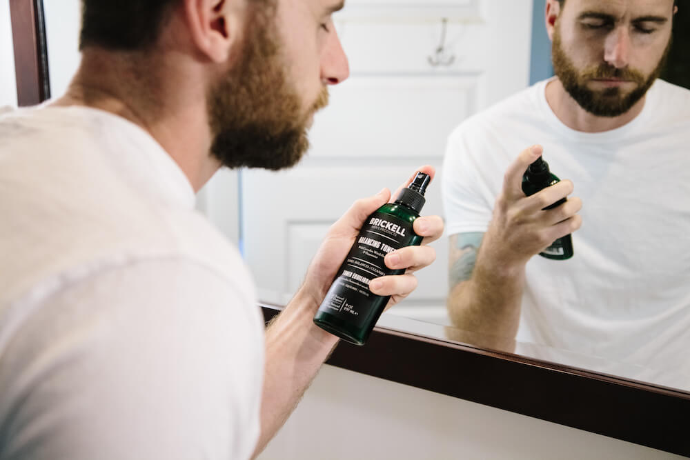 gentle skincare products for men