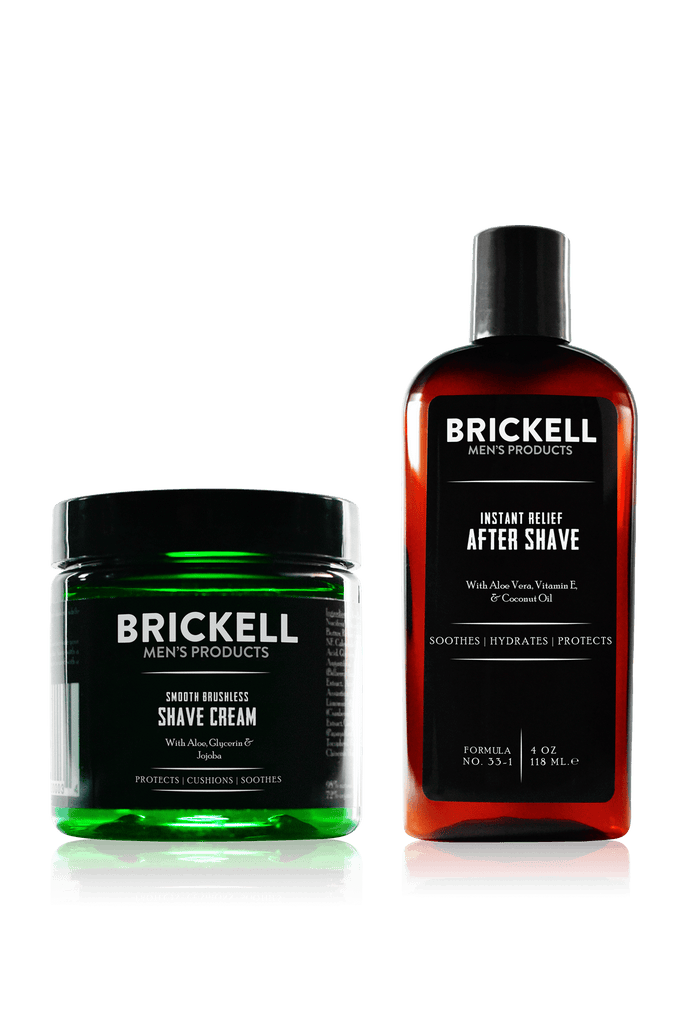 Men's natural Shave Cream and natural Aftershave for men
