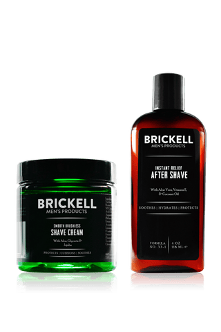 Men's Smooth Brushless Shave Routine