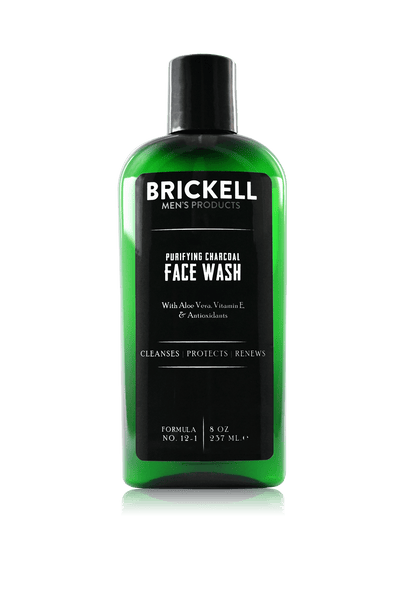 The Best Face Wash For Men Brickell Purifying Charcoal
