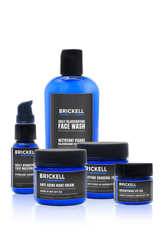 Brickell Blue Essentials Routine
