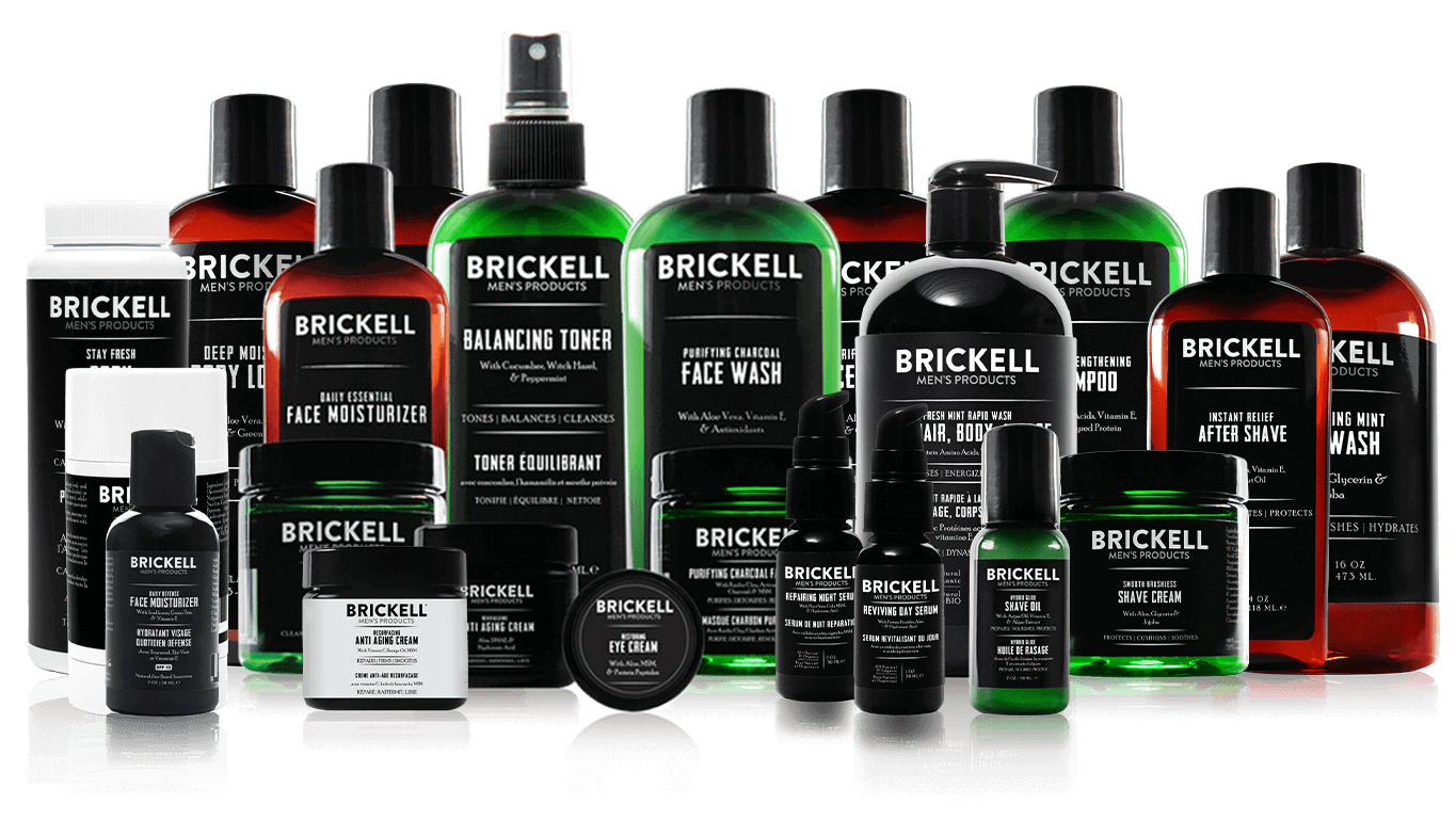 The best men's skin care and grooming products