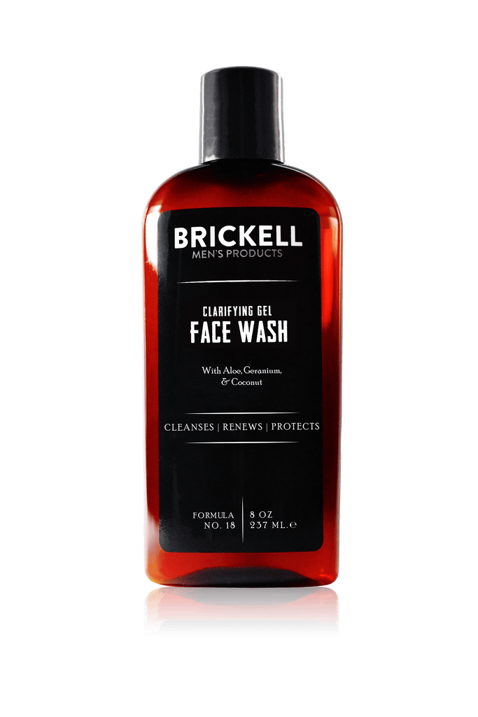 The best natural face wash for men with oily skin