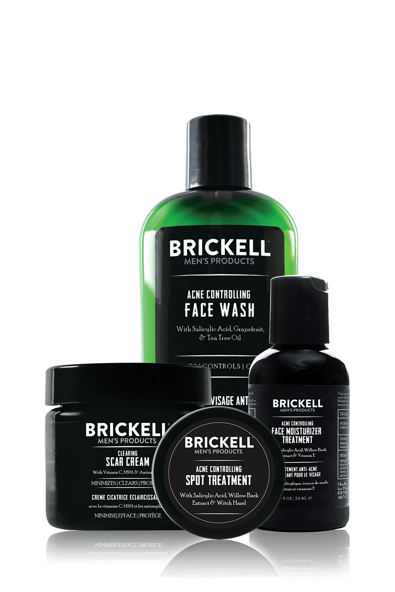 Best Acne System For Men Acne Treatment Brickell Men S Products