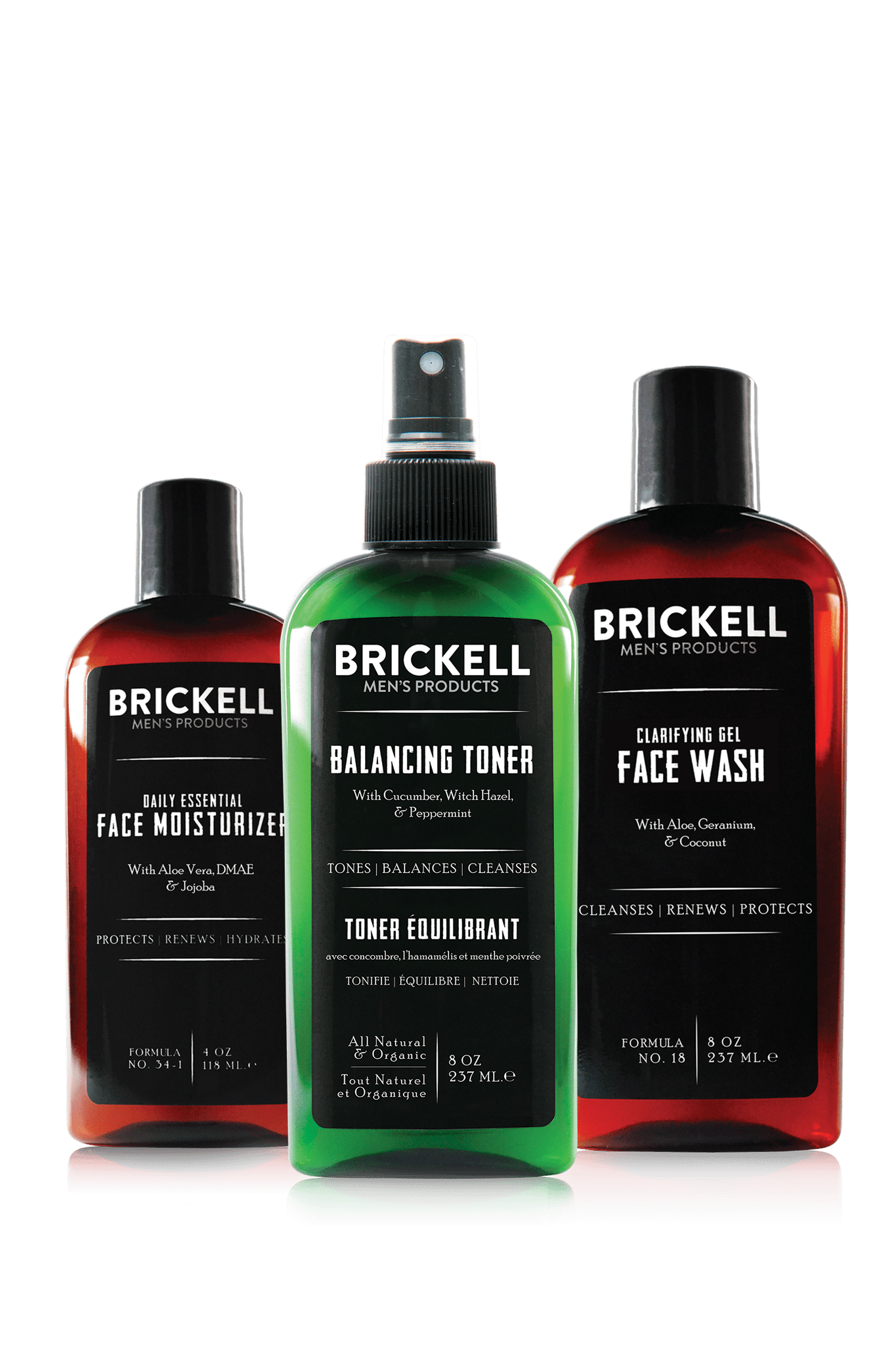 Men S Daily Face Cleanse Routine For Oily Skin Brickell Men S Products