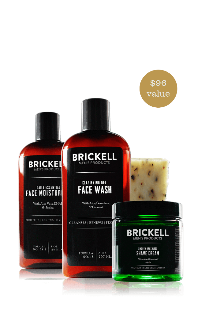 Skincare for men & grooming basic products