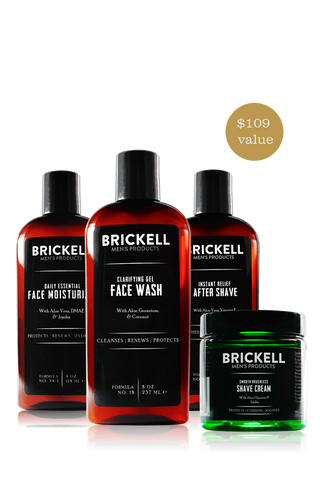 Men's Complete Grooming & Skincare Kit