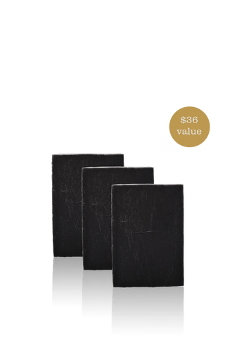 Purifying Charcoal Men's Soap Bar - 3 Pack