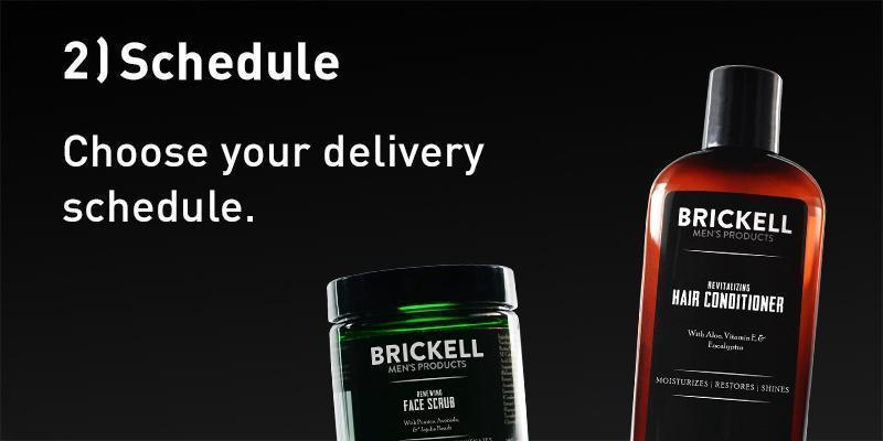 2. Schedule - Choose your delivery schedule