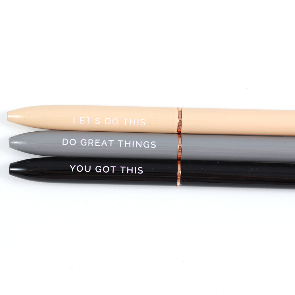 Inspirational Pen Set